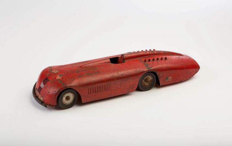 Clockwork Tinplate Toy Car 1