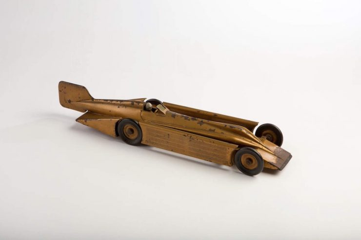 Clockwork Tinplate Toy Car