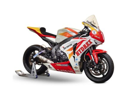 Honda CBR1000RR Fireblade 450x330 - Guy Martin's Honda CBR1000RR Fireblade