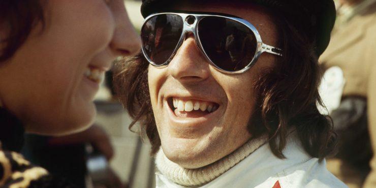 Jackie Stewart Laughing
