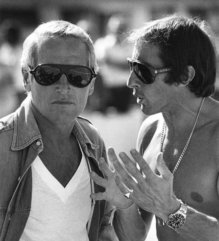 Jackie Stewart Paul Newman