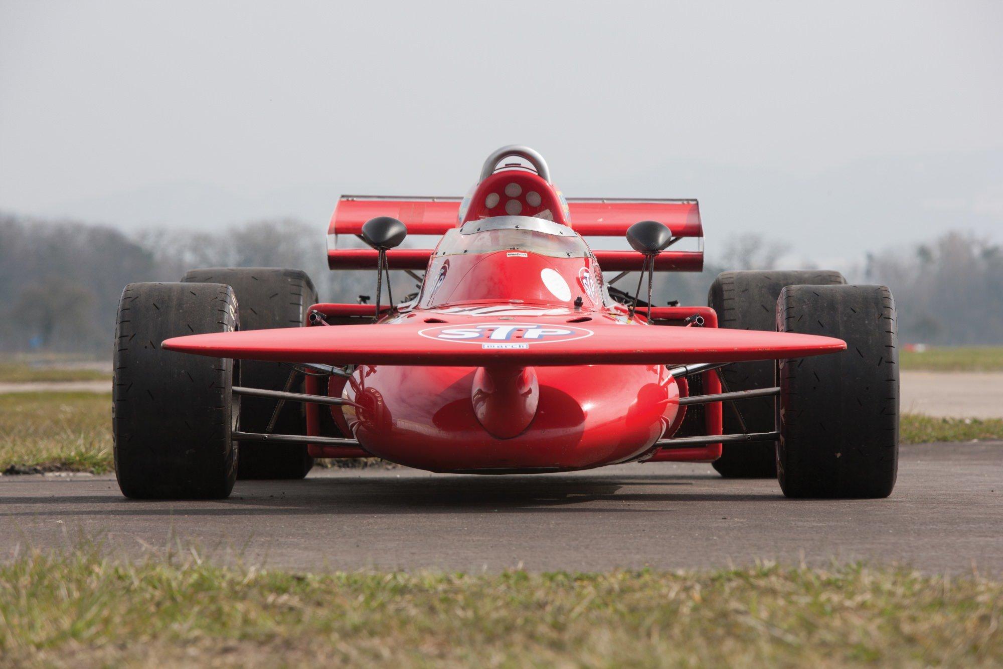 Niki Lauda\'s March 711 Formula 1 Car