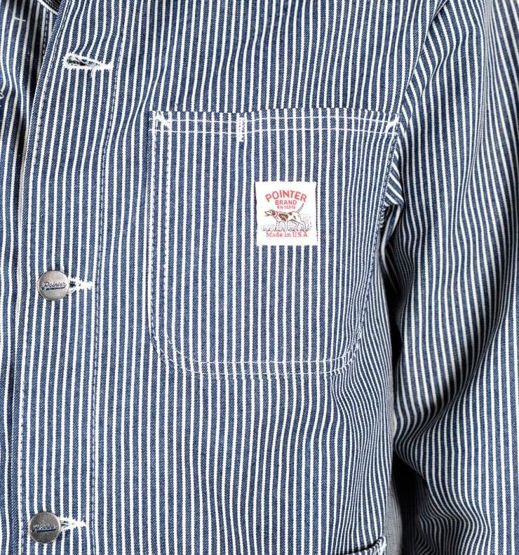 Pointer Brand Chore Coat Detail