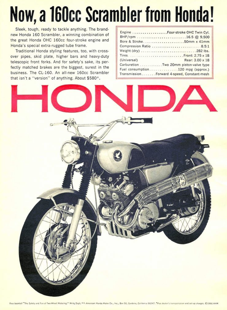 Honda CL160