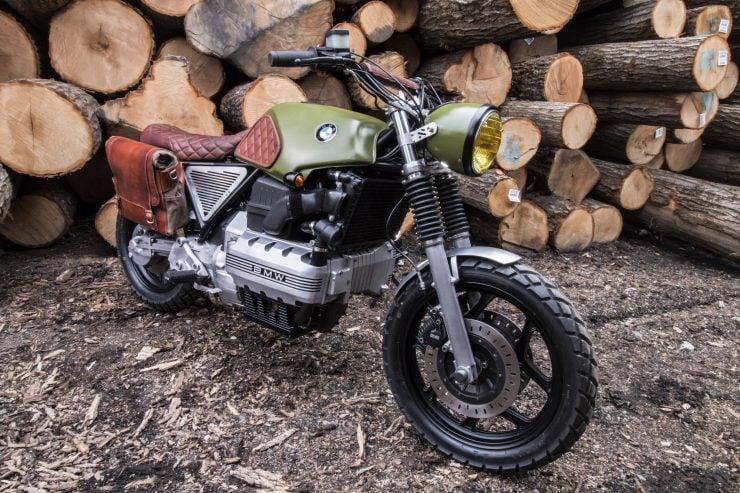 BMW K100 Scrambler 1