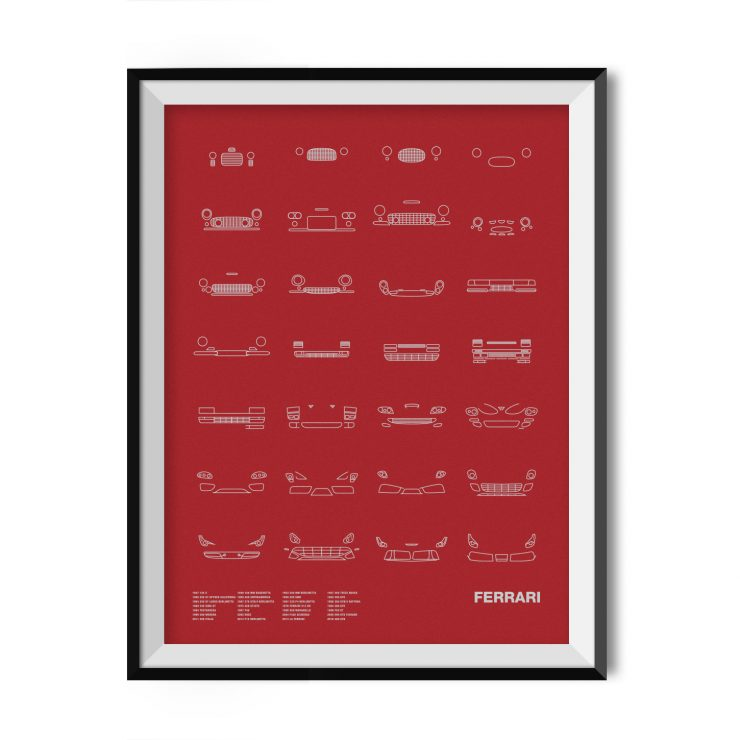 Ferrari_Framed