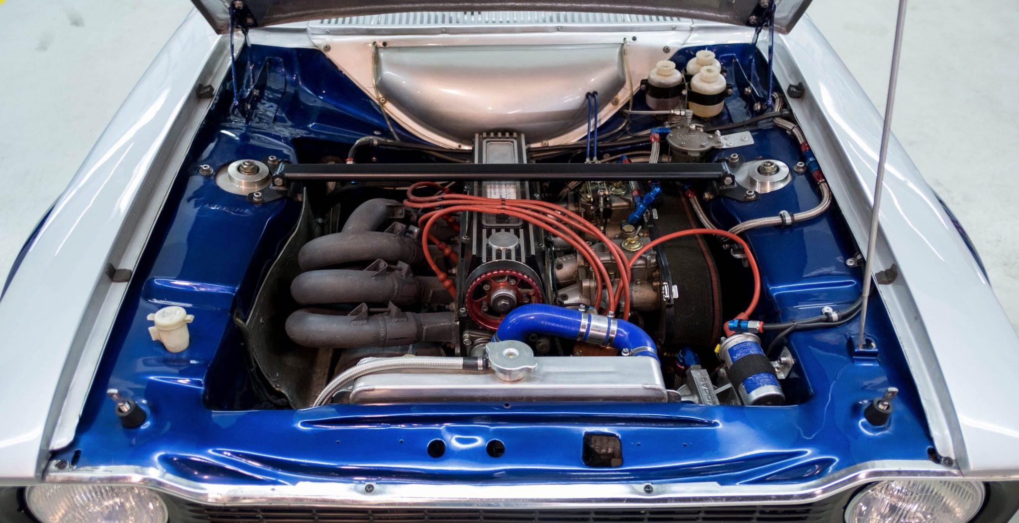 Ford escort racing engine
