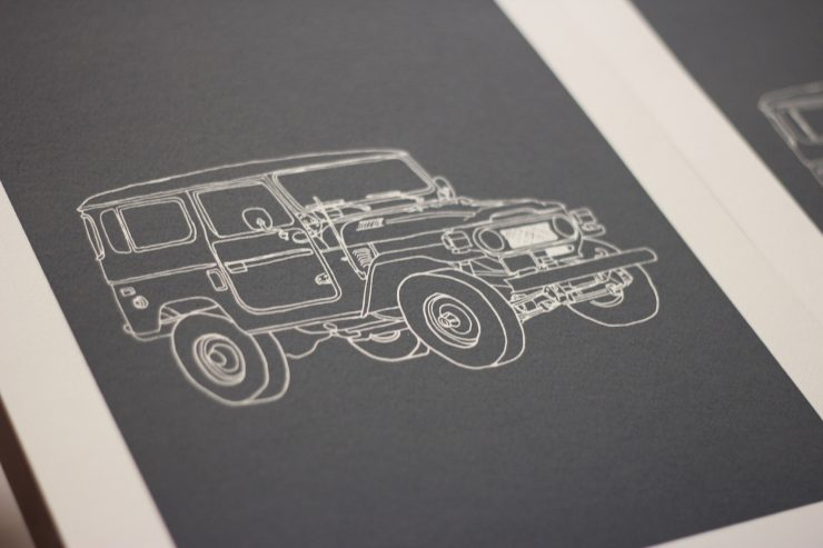Land Rover Art