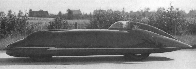 MG EX179 Car