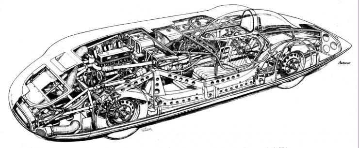 MG EX179 Cutaway