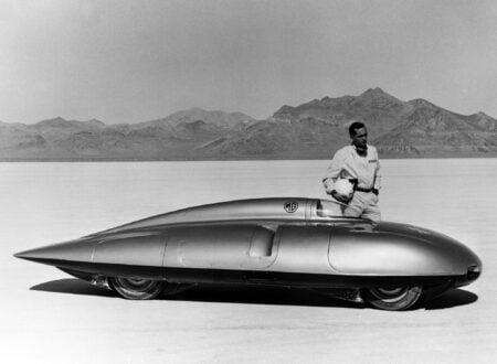 MG EX181 450x330 - MG Speed Trials at Bonneville Salt Flats - 1956