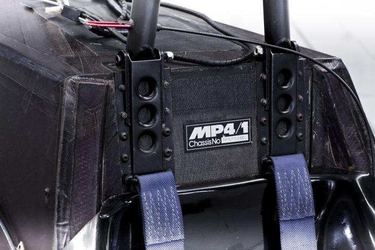 McLaren MP4:1 seat