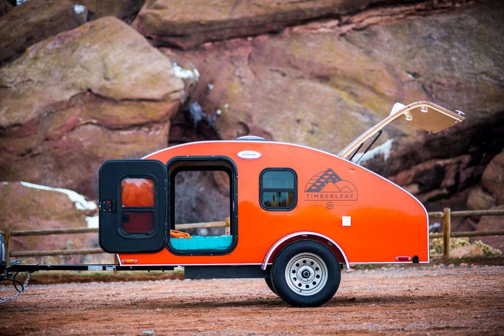 Timberleaf Teardrop Camper Trailer