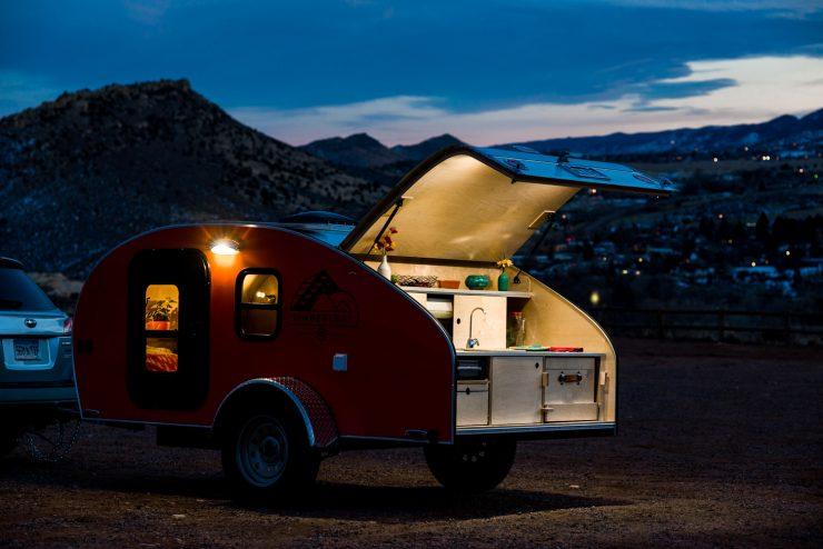 Timberleaf Teardrop Camper Trailer 10