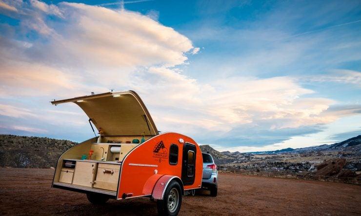 Timberleaf Teardrop Camper Trailer 6