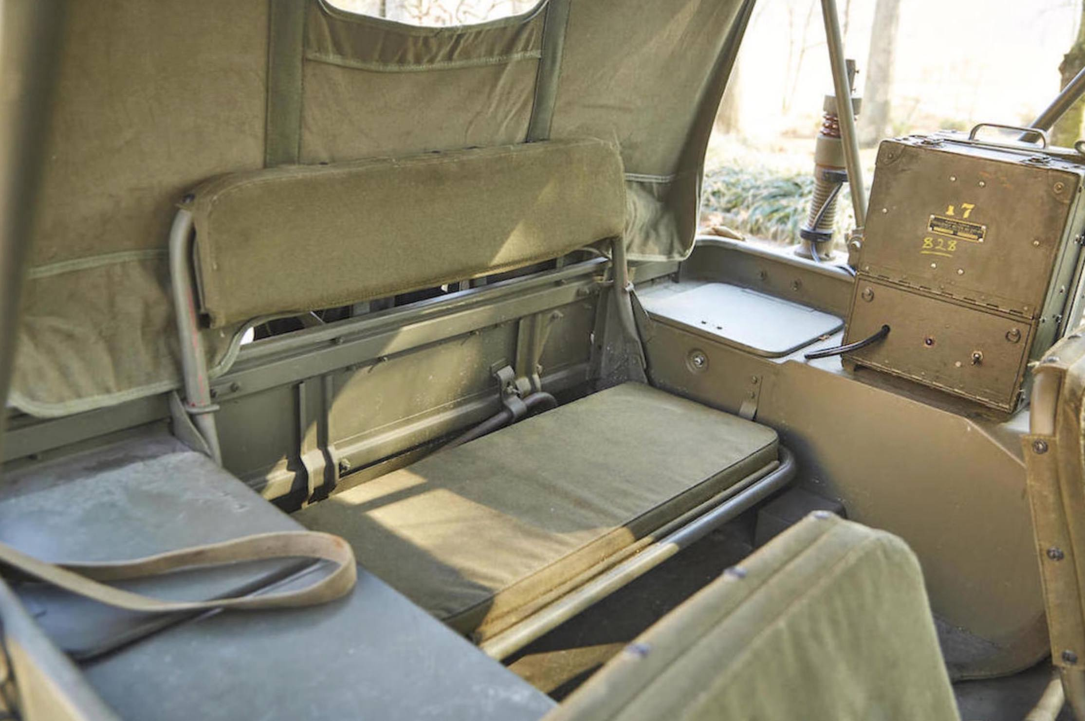 1943 Willys Jeep With Trailer | Willys Jeep Rear Seat |  | Silodrome