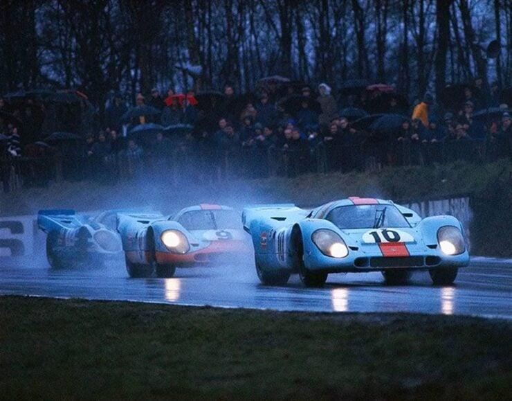 ohn Wyer's Gulf Porsche Team