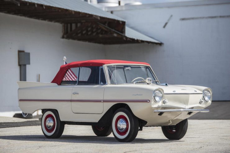 Amphicar Model 770 Amphibious Car 11