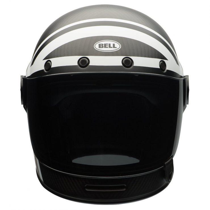 Bell Bullitt Carbon Ace Cafe Black Jack Helmet Front