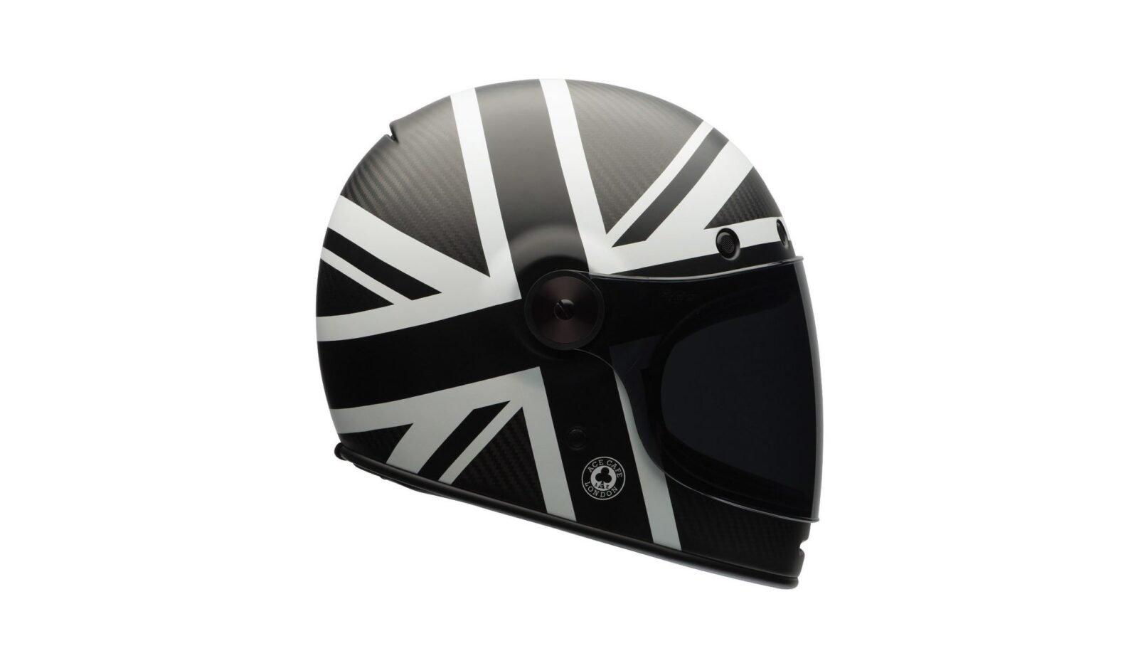 Bell Bullitt Carbon Ace Cafe Black Jack Helmet