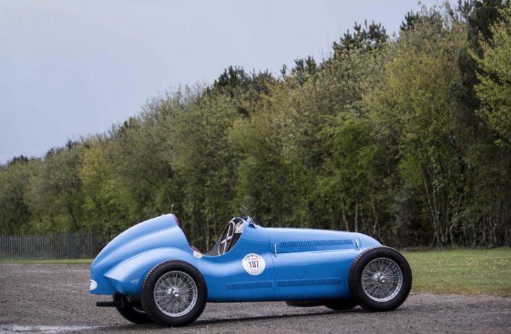 Bugatti Type 73C Grand Prix Monoposto 12