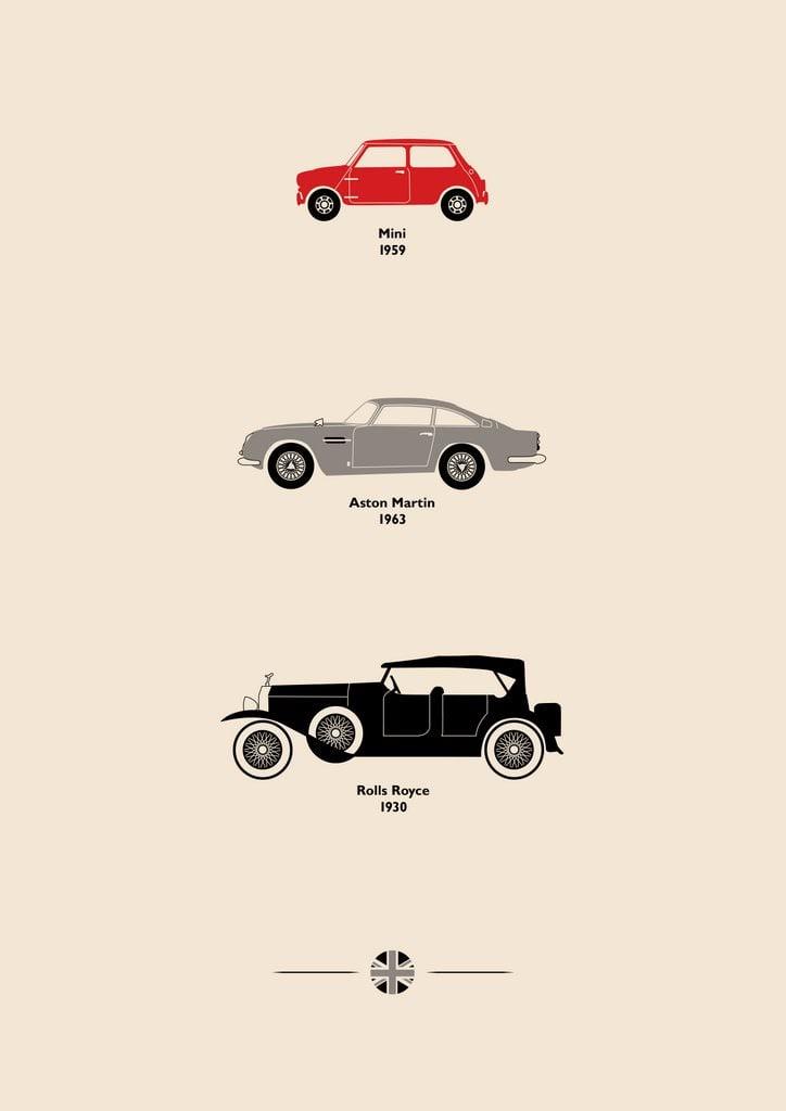 Car Art Posters 1