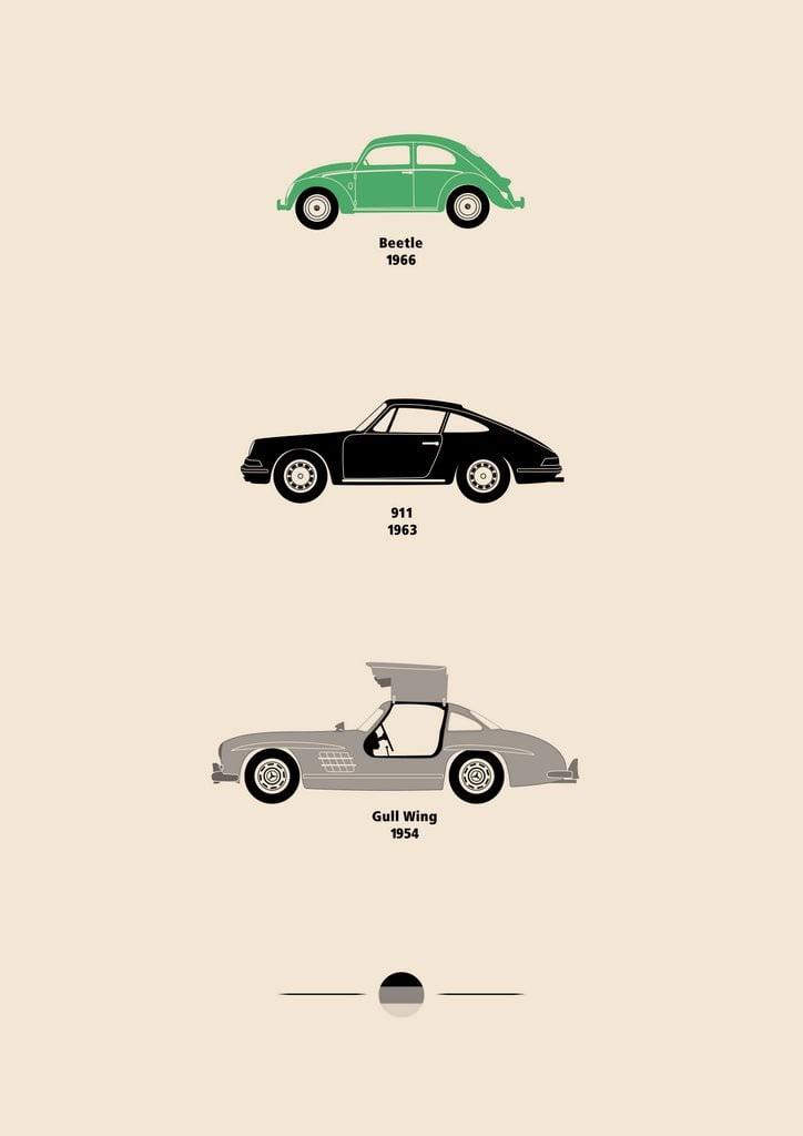 Car Art Posters 4