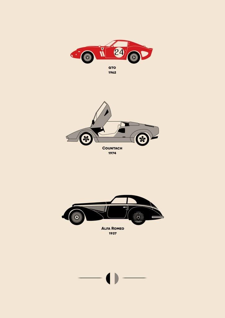 Car Art Posters 5
