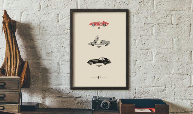 Car Art Posters 6