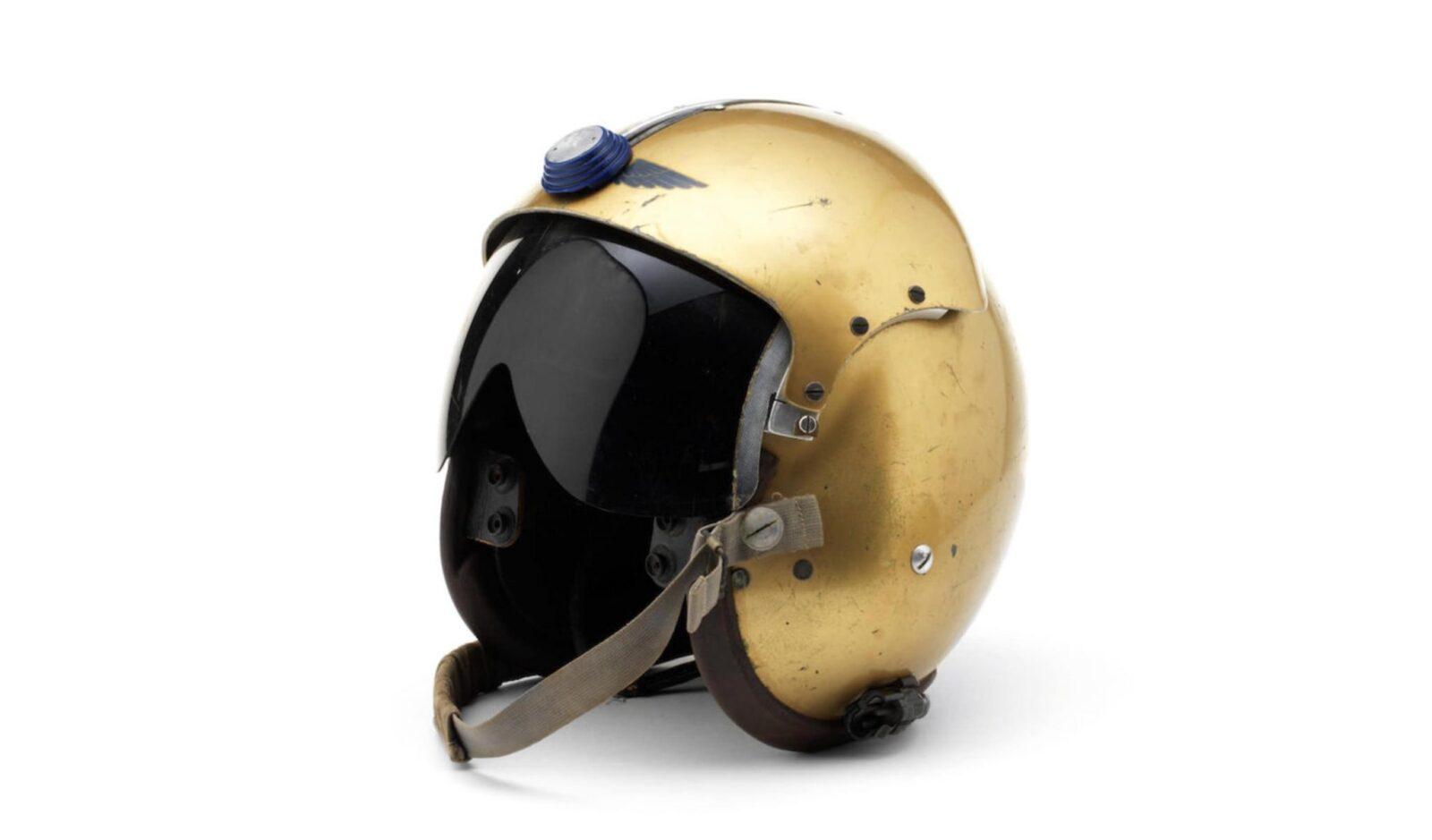 Donald Campbells Bluebird Helmet 1600x939 - Donald Campbell's Bluebird Helmet