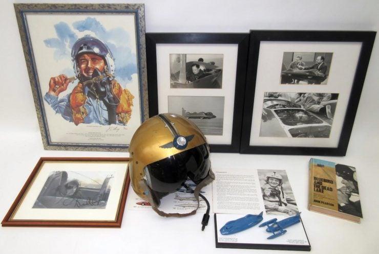 Donald Campbell's Bluebird Helmet 2