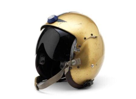 Donald Campbells Bluebird Helmet 450x330 - Donald Campbell's Bluebird Helmet
