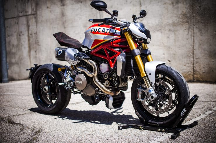 Ducati Monster Motorcycle 12