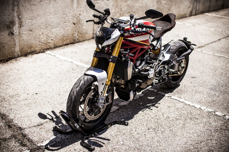Ducati Monster Motorcycle 8