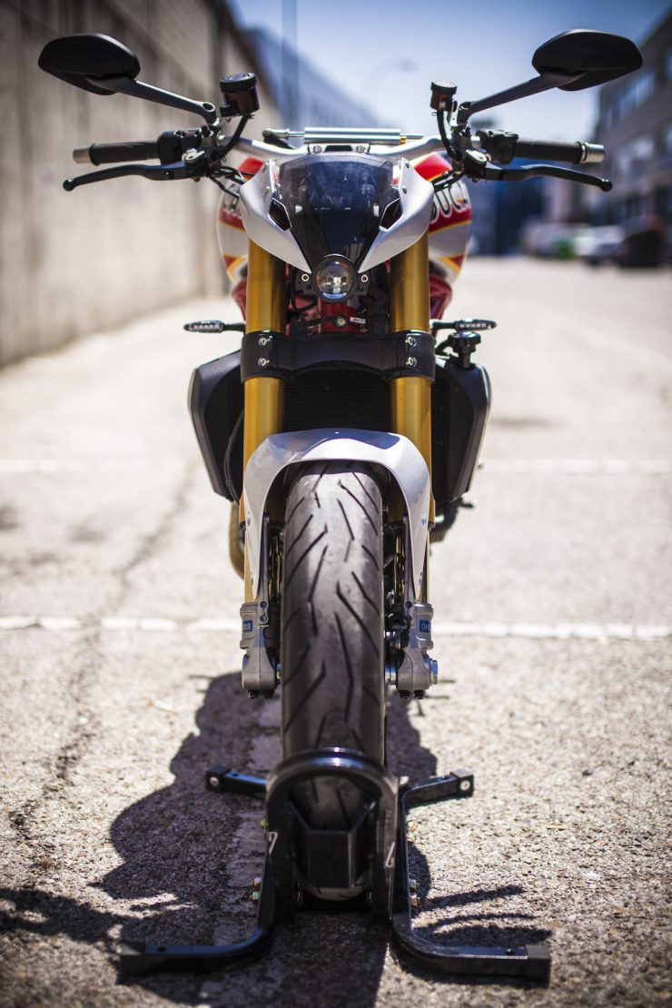 Ducati Monster Motorcycle 9