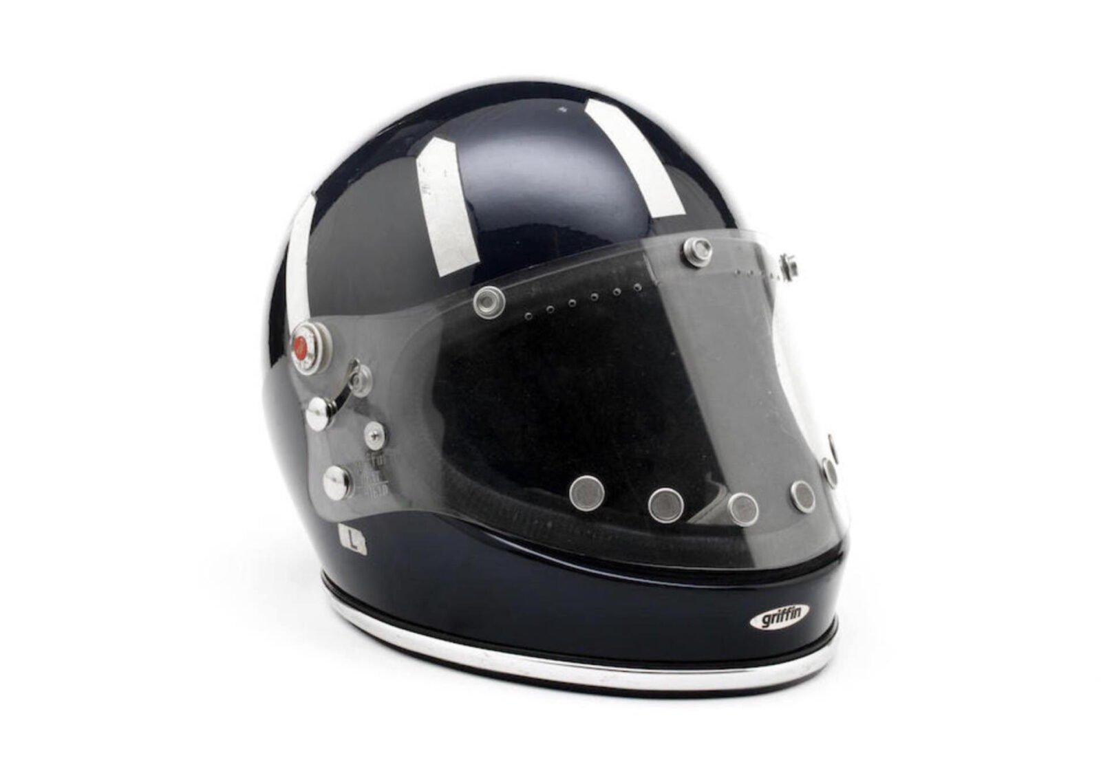 Graham Hills Griffin Clubman Helmet 2 1600x1121 - Graham Hill's Griffin Clubman Helmet
