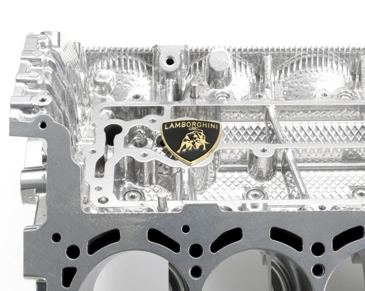 Lamborghini V10 Engine Coffee Table 1