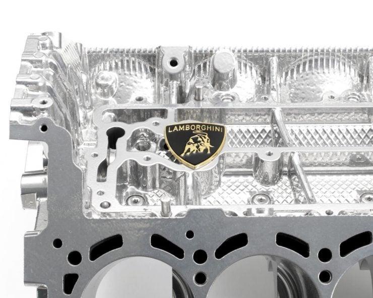 Lamborghini V10 Engine Coffee Table 1