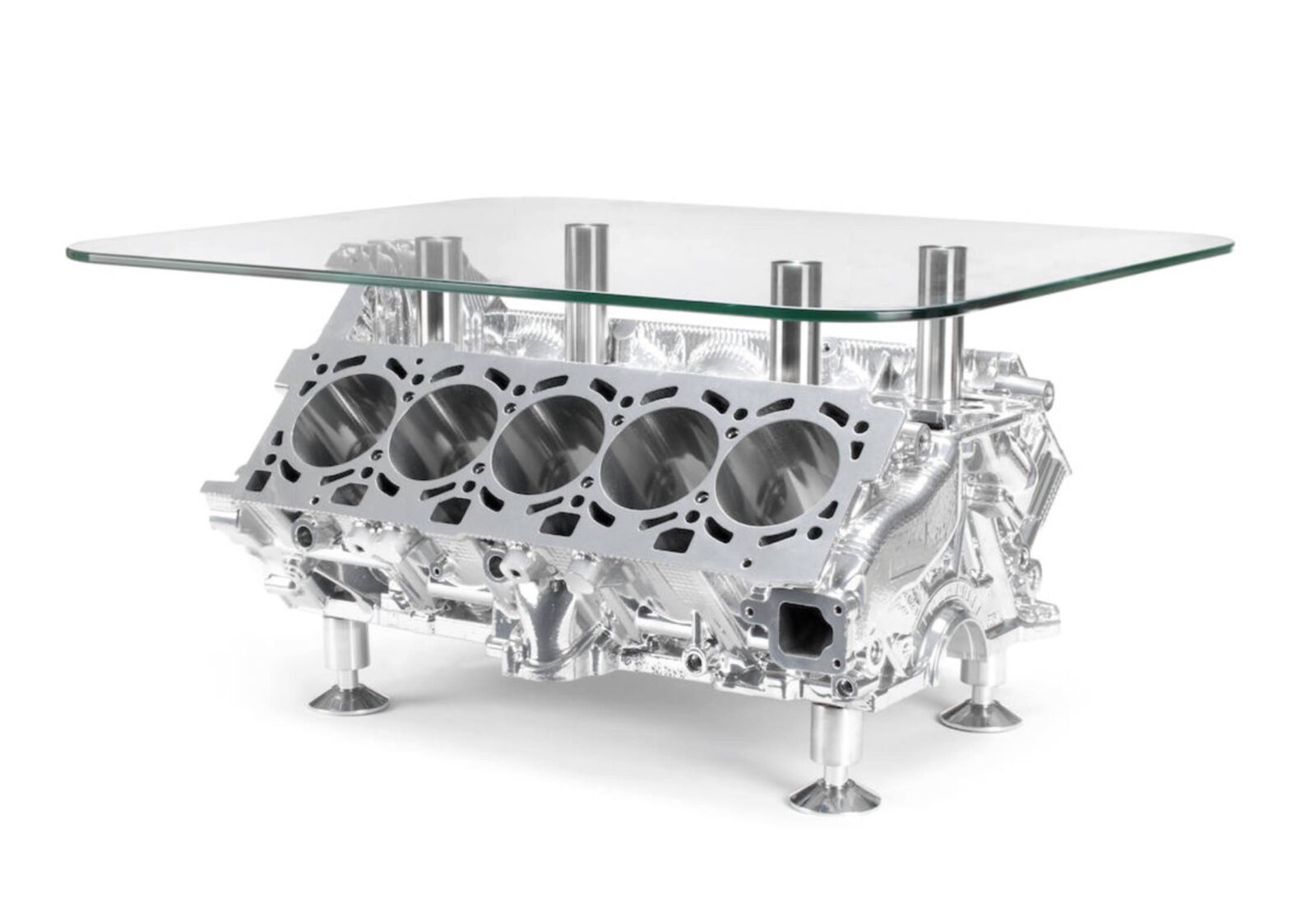 Lamborghini V10 Engine Coffee Table 1600x1103 - Lamborghini V10 Engine Coffee Table