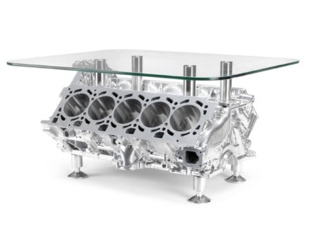 Lamborghini V10 Engine Coffee Table
