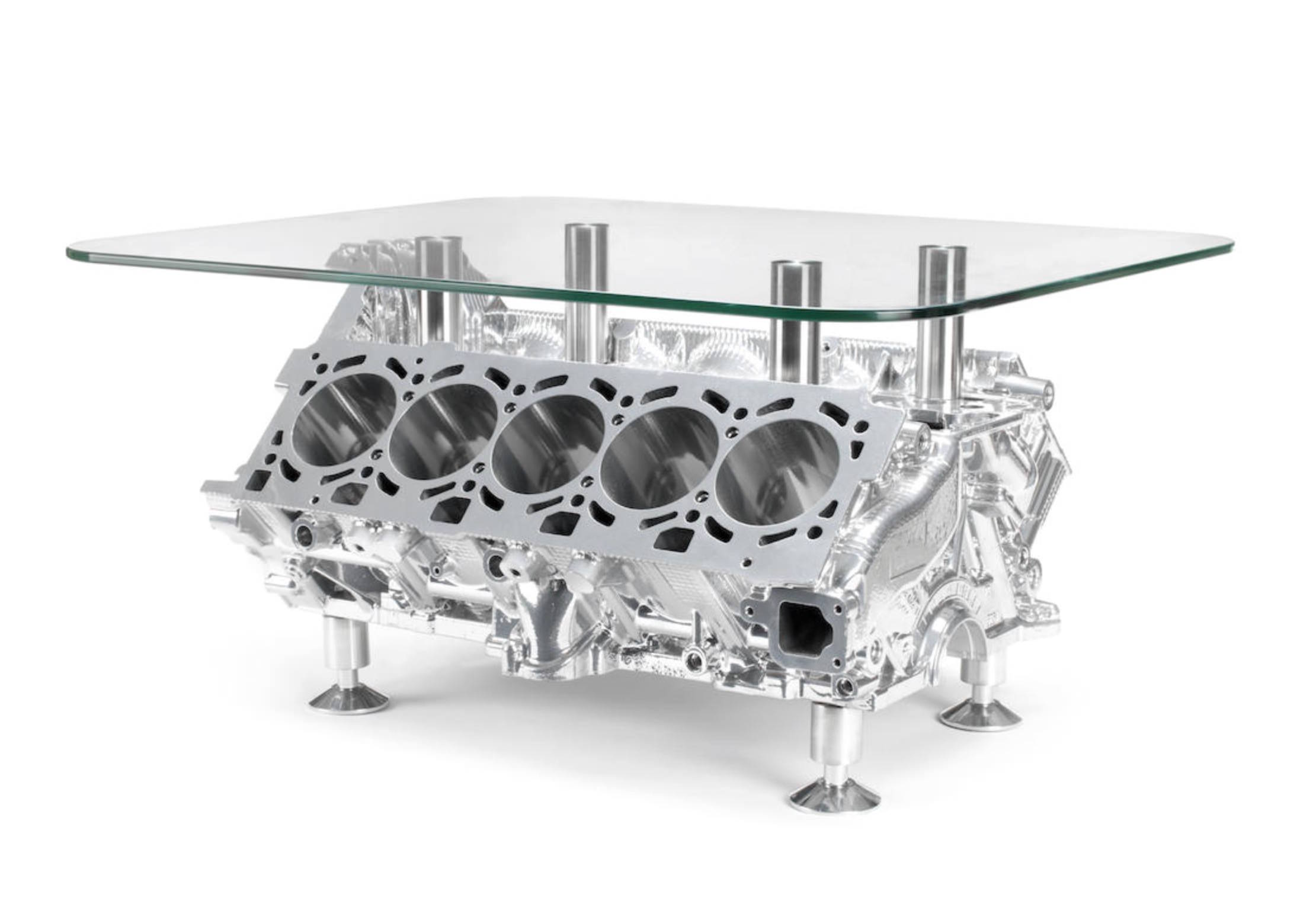 Certified Used Cars >> Lamborghini V10 Engine Coffee Table