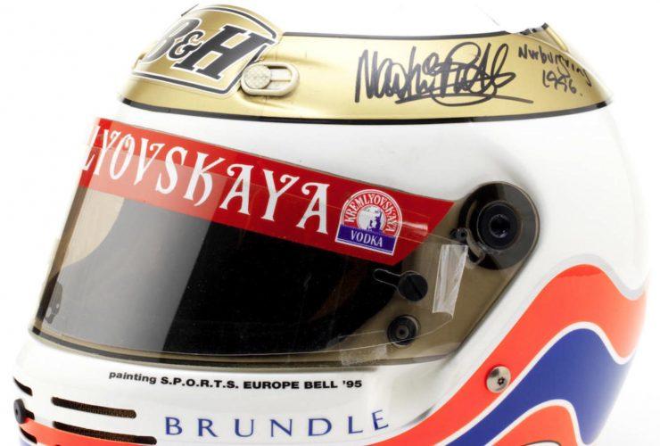 Martin Brundle 1995 Bell Formula 1 Helmet