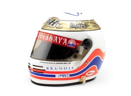 Martin Brundles 1995 Bell Formula 1 Helmet 450x330 - Martin Brundle's 1995 Bell Formula 1 Helmet
