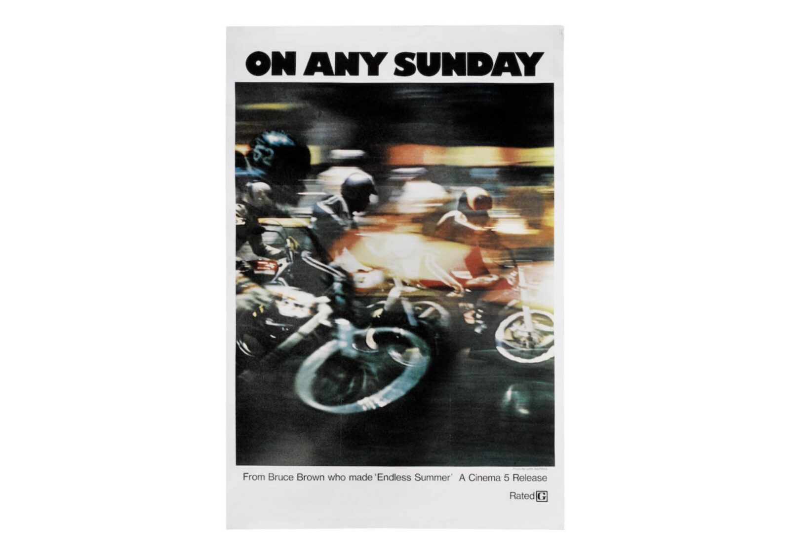 On Any Sunday Promotional Poster 1600x1128 - Original On Any Sunday Promotional Poster