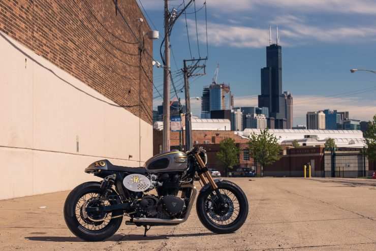 Triumph Bonneville by Analog Motorcycles 1