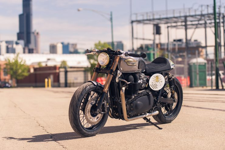 Triumph Bonneville by Analog Motorcycles 10
