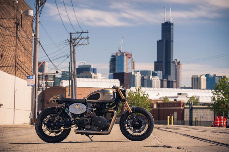 Triumph Bonneville by Analog Motorcycles 2