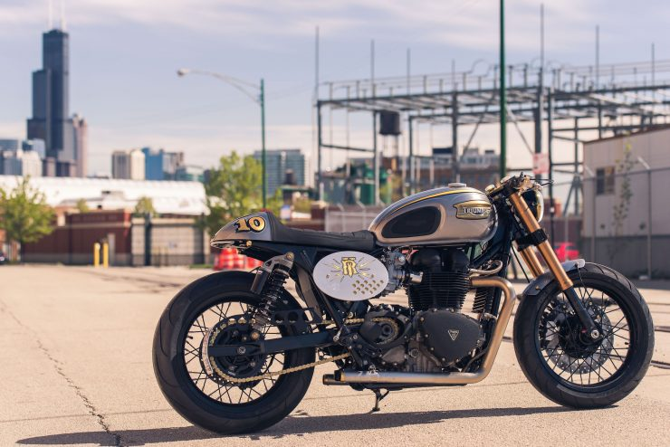 Triumph Bonneville by Analog Motorcycles 4