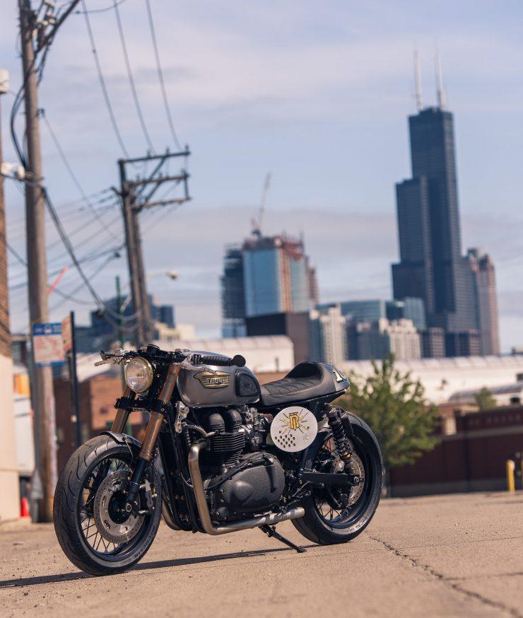 Triumph Bonneville by Analog Motorcycles 6