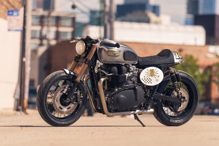 Triumph Bonneville by Analog Motorcycles 7
